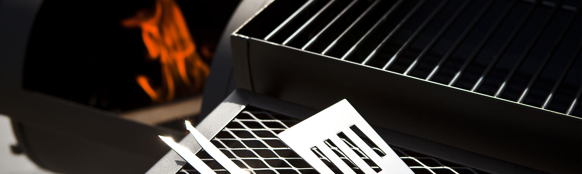 Close-Up of a Grill